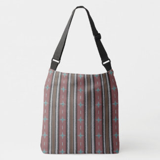 Southwest Sojourn Cross Body Tote Bag