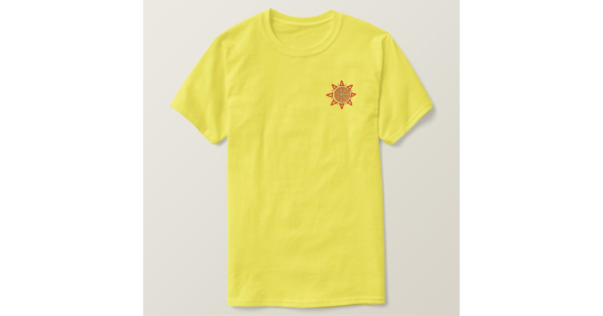 Southwest sun embroidered t shirt for Sun t shirts sunland california