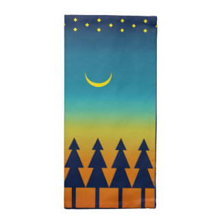 Southwest Sunset Pines Moon Napkin