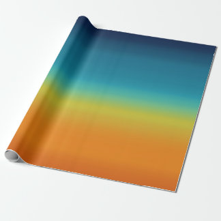 Southwest Sunset Wrapping Paper