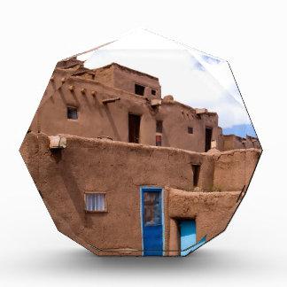 Southwest Taos Adobe Pueblo House New Mexico