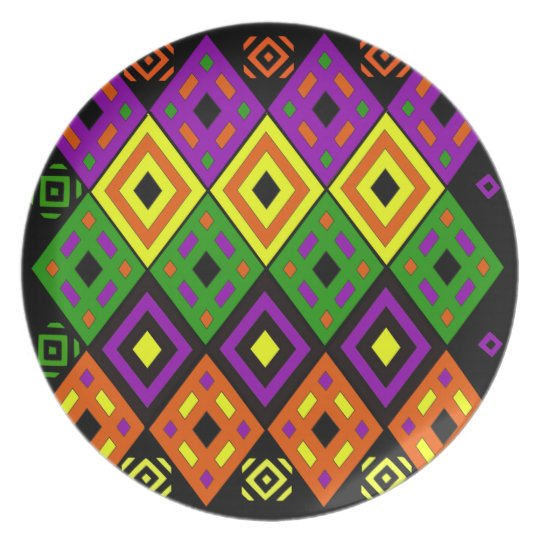 Southwest Themed Colours Plate