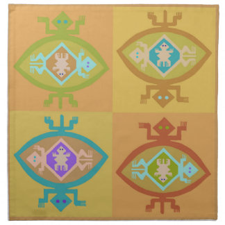 Southwest Tortuga Family Napkin