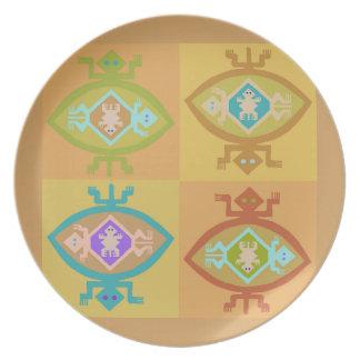 Southwest Tortuga Family Plate