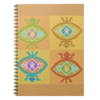 Southwest Tortuga Family Spiral Notebook