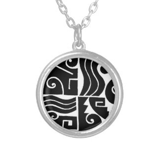 Southwest Tortuga Silver Plated Necklace