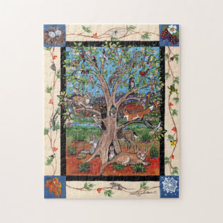 Southwest Tree of Life Animal Four Seasons Puzzle