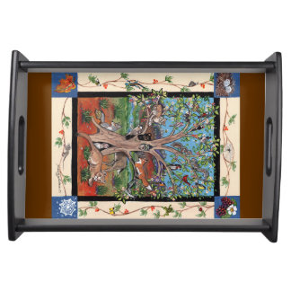 """Southwest Tree of Life"" Four Seasons Serving Tray"