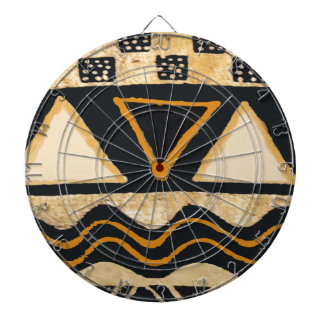 Southwest Tribal Native American Design Dartboard With Darts
