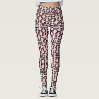 Southwest Tribe Pink Blush Leggings