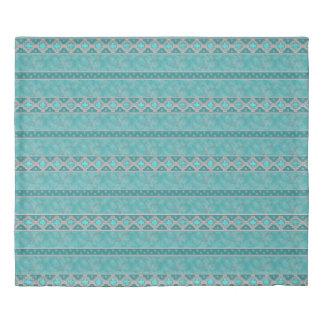 Southwest Turquoise Duvet Cover