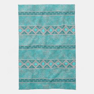 Southwest Turquoise Kitchen Towel