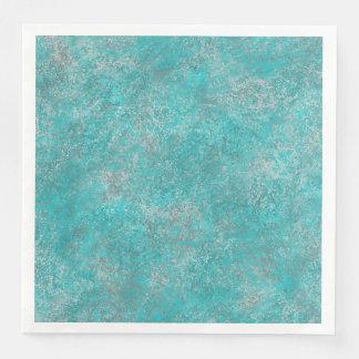 Southwest Turquoise Paper Napkin