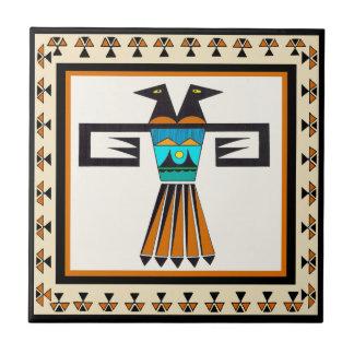 Southwest Twin Bird Head Tile