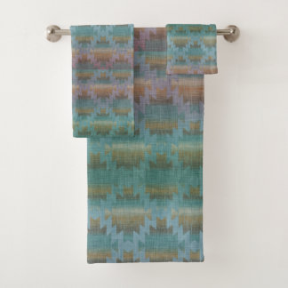 Southwestern Blues   Beautiful Bath Towel Set