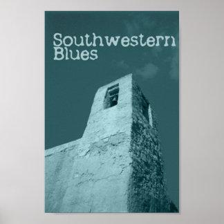 Southwestern Blues Poster