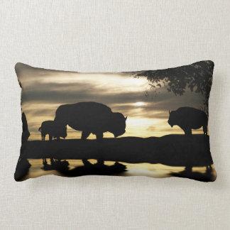 Southwestern Buffalo Decor Throw Pillow