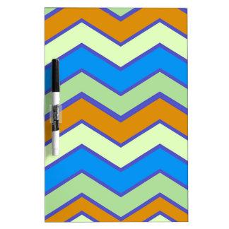 Southwestern Designer Majesty Zigzags Dry Erase Board