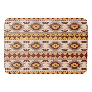 southwestern ethnic navajo pattern bath mat