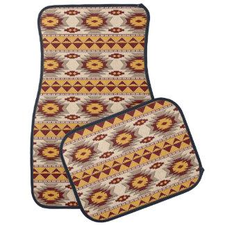 southwestern ethnic navajo pattern car mat