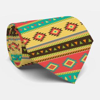 Southwestern Indian Pattern Tie