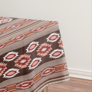 Southwestern navajo ethnic tribal pattern. tablecloth