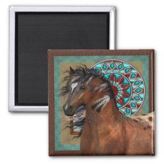 Southwestern Painted Pony Magnet