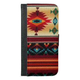 Southwestern pattern iPhone 6/6s Plus Wallet case
