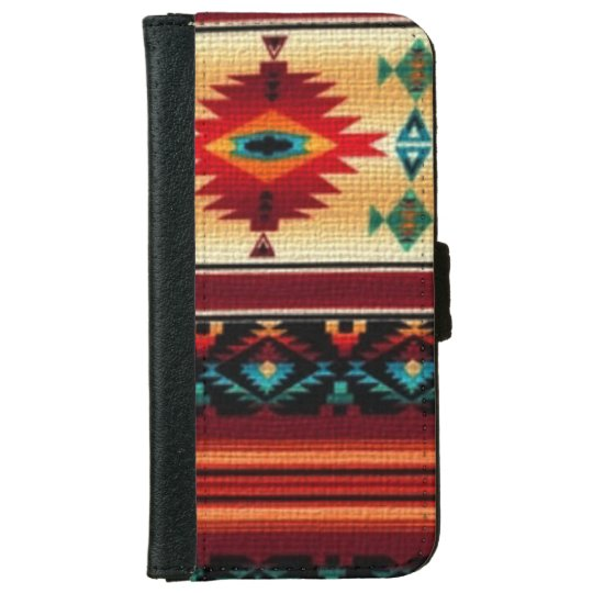 Southwestern Pattern iPhone 6 wallet case