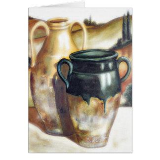 Southwestern Pottery Note Card