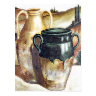 Southwestern Pottery Postcard