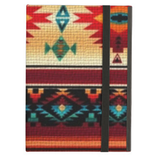 Southwestern Powis iPad case with kickstand