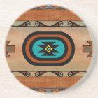 Southwestern Pueblo Design Coaster