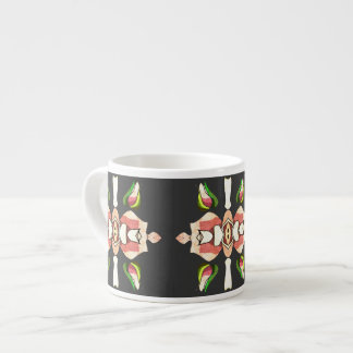 southwestern rose pink espresso cup by FRenee2