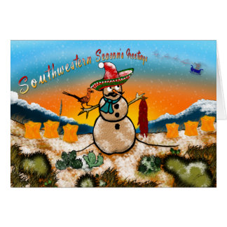 Southwestern Season's Greetings Card