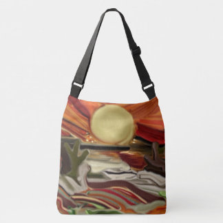 Southwestern Skies Abstract Art Crossbody Bag