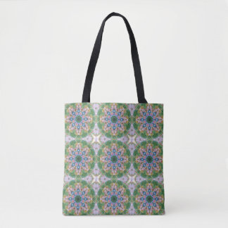 Southwestern Starburst Daisies (mini print)Tote Tote Bag