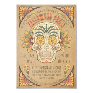 Southwestern Style Halloween Party Invitations