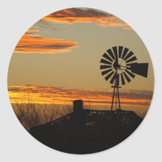 southwestern sunset stickers