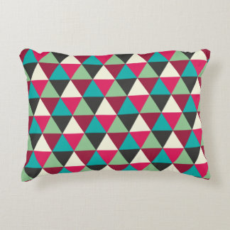 Southwestern Triangles Pattern Accent Pillow