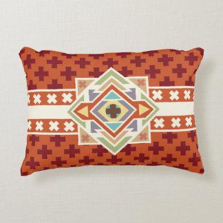 Southwestern Tribal Native Geometric Pattern Decorative Pillow