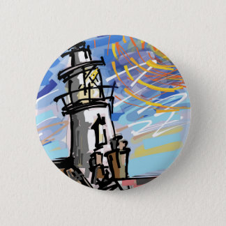 Southwold Lighthouse 2 Inch Round Button