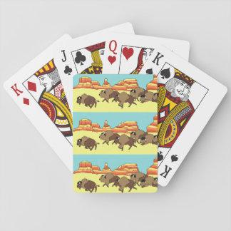 Soutwest Buffalo Playing Cards