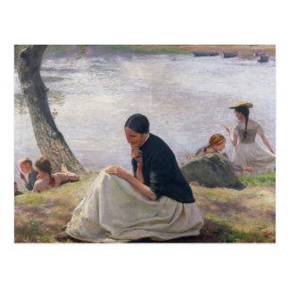 Souvenir, 1891 postcard