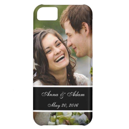 Souvenir de photo de mariage étui iPhone 5C