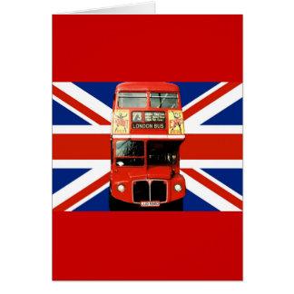 Souvenir Greeting Card from London England