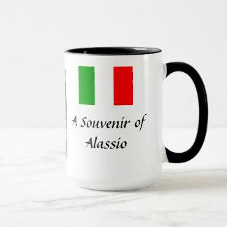 Souvenir Mug - Alassio, Italy
