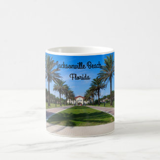 Souvenir mug of Jacksonville Beach, Florida