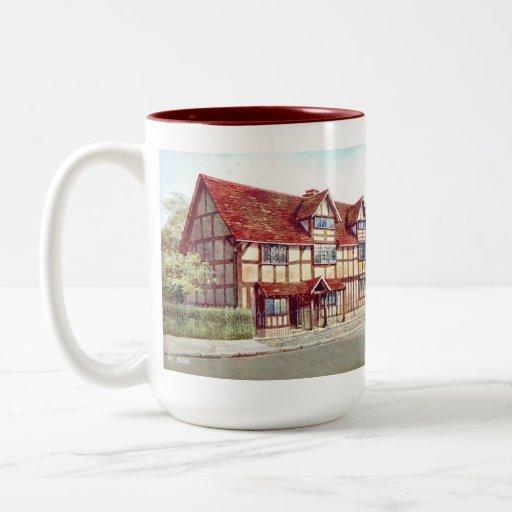 Souvenir Mug - Shakespeare's Birthplace, Stratford