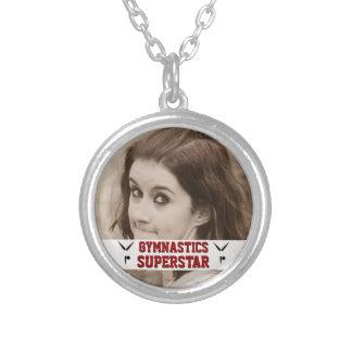 Souvenir personnalisable de photo de superstar de pendentif